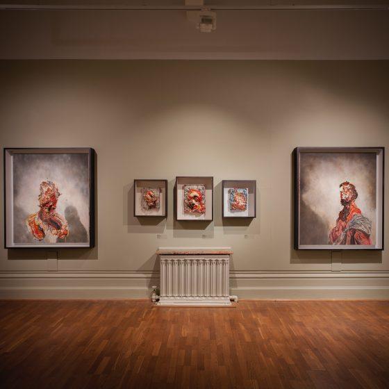 Nottingham Castle Museum. Reportrait exhibition. 2018