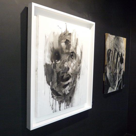 Head Study. Oil on Linen. 100cm x 80cm