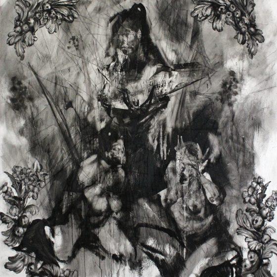 Monarch. Oil on Linen. 180cm x 140cm