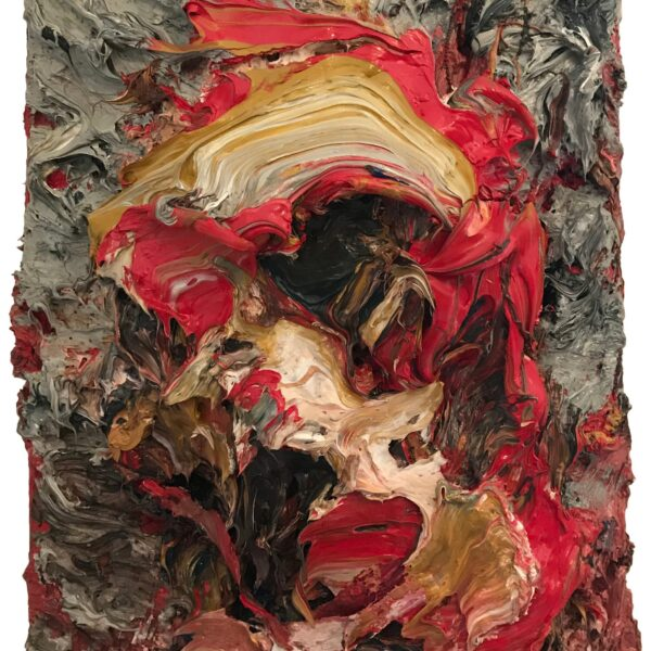 7._AM035_ANTONY_MICALLEF_b._1975__Small_Self_Portrait_in_Red_and_