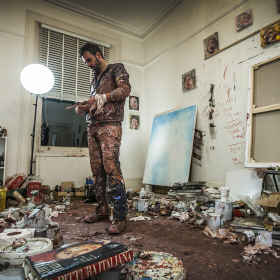 Antony Micallef. Studio